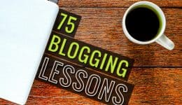 75BloggingLessons