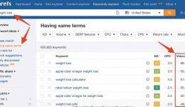 Ahrefs-Keyword-Search-Tool