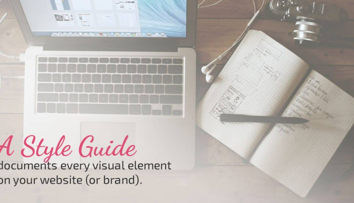 How to Make a Style Guide for your Blog