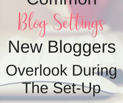 common-blog-settings