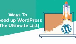 ways-to-speed-up-wordpress