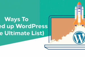 ways-to-speed-up-wordpress